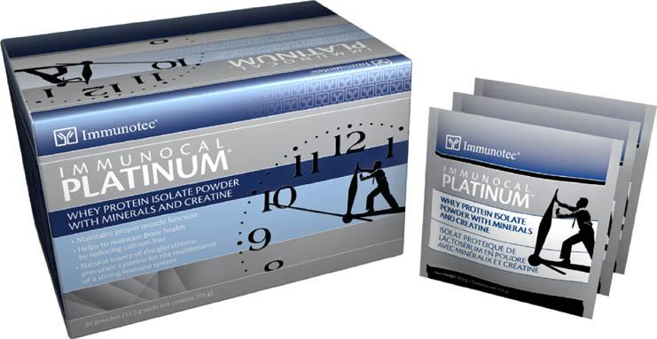 Immunocal Platinum mucho mejor